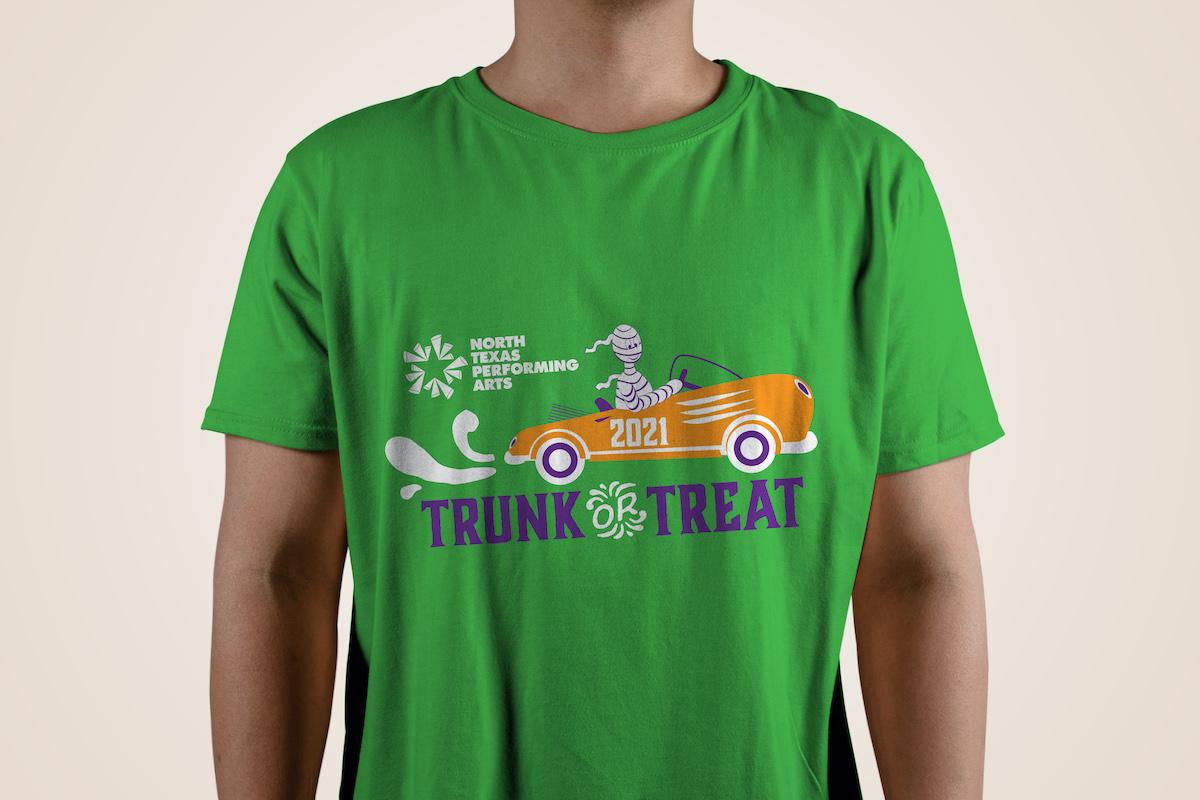 2021 NTPA Trunk or Treat t-shirt