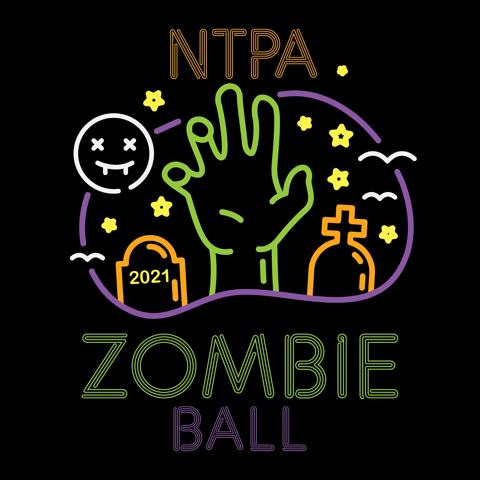 2021 NTPA Zombie Ball logo