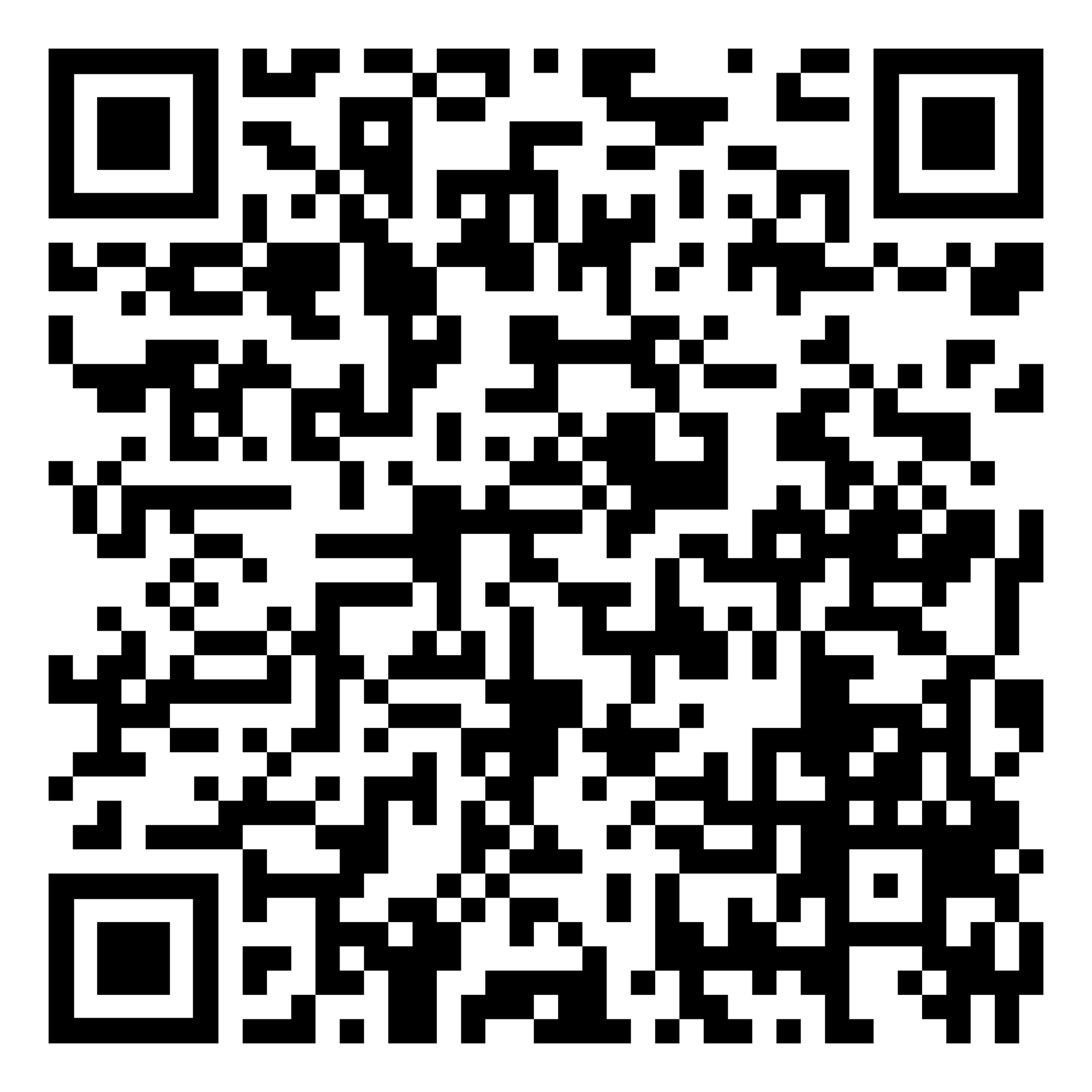Just Shots QR code to preregister for vaccine shot