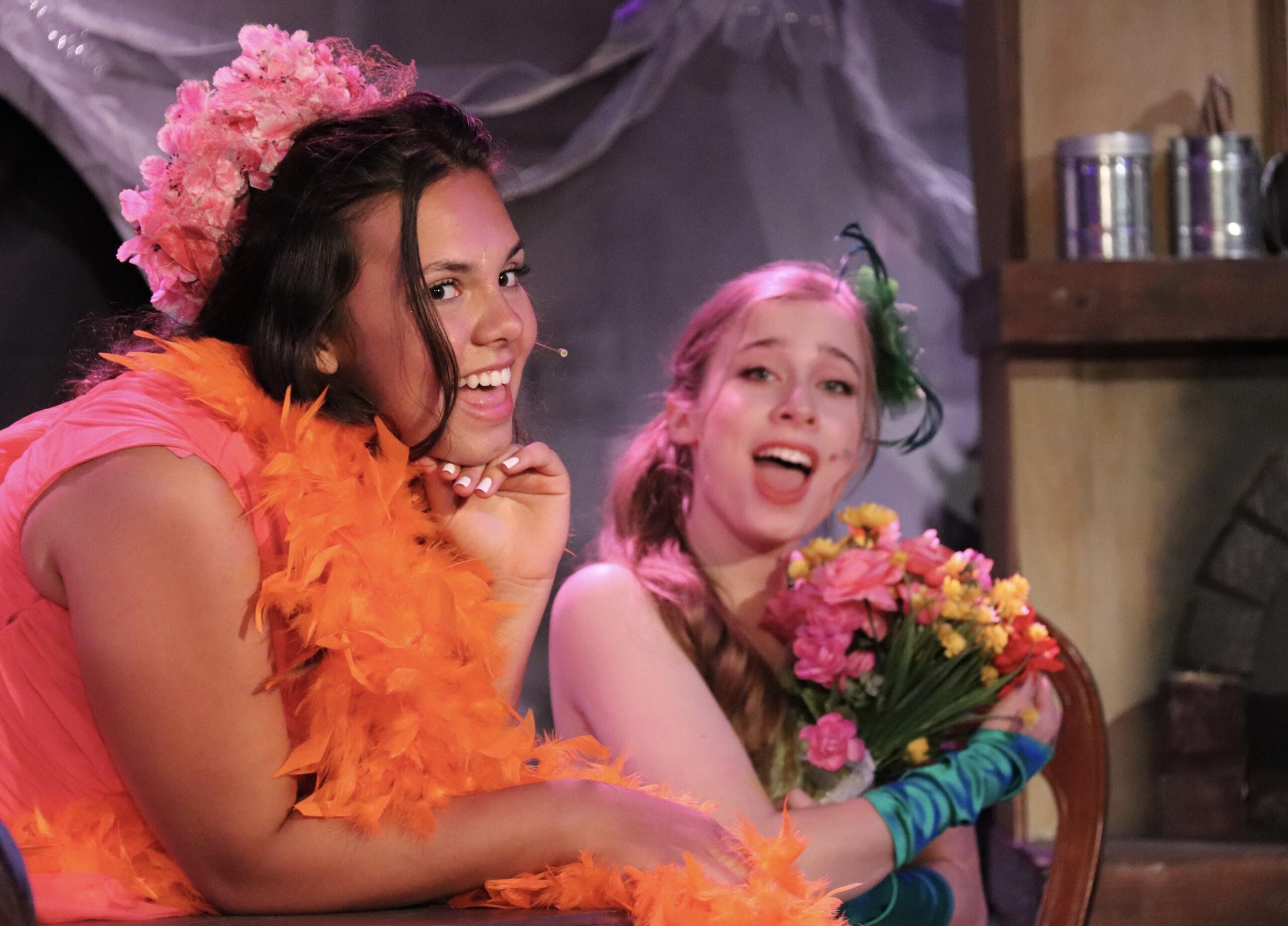 NTPA Actresses performing in Cinderella